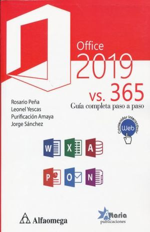 OFFICE 2019 VS 365. GUIA COMPLETA PASO A PASO