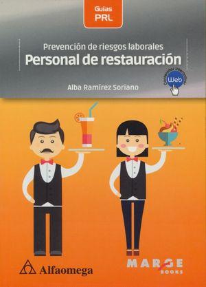 Prevención de riesgos laborales. Personal de restauración