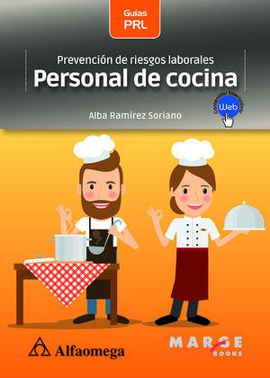 Prevención de riesgos laborales. Personal de cocina