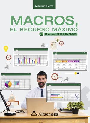 Macros, el recurso máximo. Excel 2019