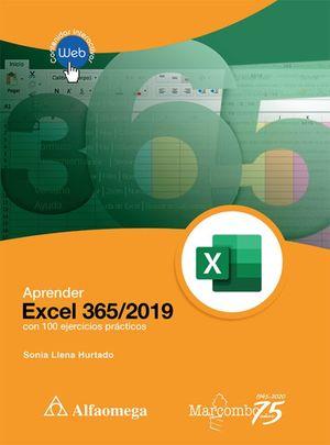 Aprender Excel 365/2019 con 100 ejercicio prácticos