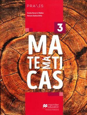 PRAXIS MATEMATICAS 3