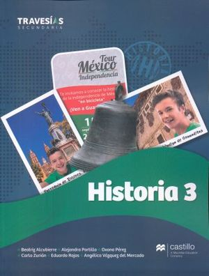 TRAVESIAS SECUNDARIA. HISTORIA 3