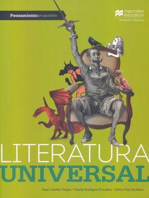 PENSAMIENTO EN ACCION. LITERATURA UNIVERSAL