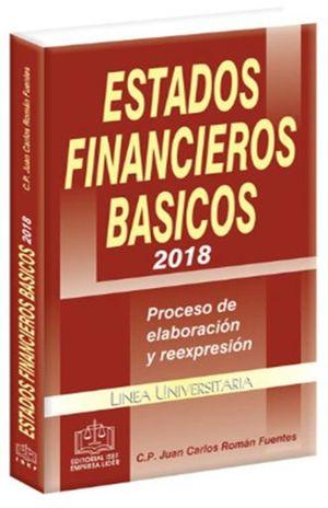 ESTADOS FINANCIEROS BASICOS 2018 PROCESO DE ELABORACION Y REEXPRESION