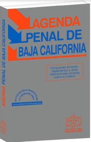 AGENDA PENAL DE BAJA CALIFORNIA 2019