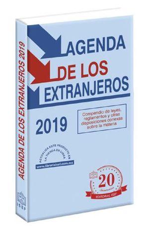 AGENDA DE LOS EXTRANJEROS 2019 (LINEA ECONOMICA)
