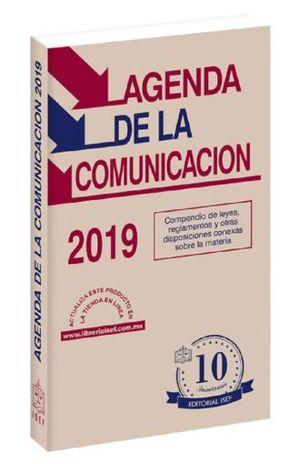 AGENDA DE LA COMUNICACION 2019 (LINEA ECONOMICA)