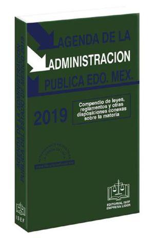AGENDA DE LA ADMINISTRACION PUBLICA DEL ESTADO DE MEXICO 2019 (LINEA ECONOMICA)