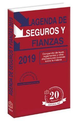 AGENDA DE SEGUROS Y FIANZAS 2019 (LINEA ECONOMICA)