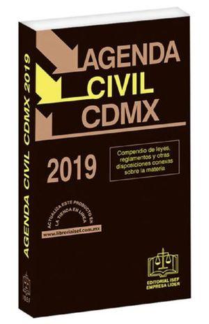 AGENDA CIVIL DE LA CIUDAD DE MEXICO 2019