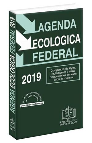 AGENDA ECOLOGICA FEDERAL 2019 (LINEA ECONOMICA)