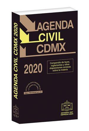 Agenda Civil de la Ciudad de México 2020 / 40 ed. (Económica)