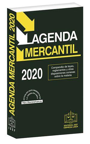 Agenda Mercantil 2020 / 49 ed. (Económica)