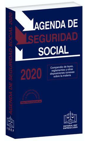 Agenda de Seguridad Social 2020 / 31 ed. (Económica)
