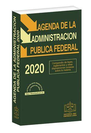 Agenda de la Administración Pública Federal 2020 / 38 ed. (Económica)