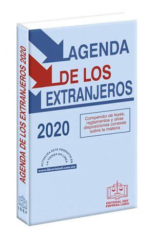 Agenda de los extranjeros 2020 / 28 ed. (Económica)