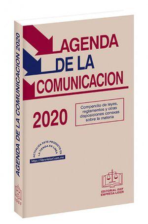 Agenda de la Comunicación2020 / 13 ed. (Económica)