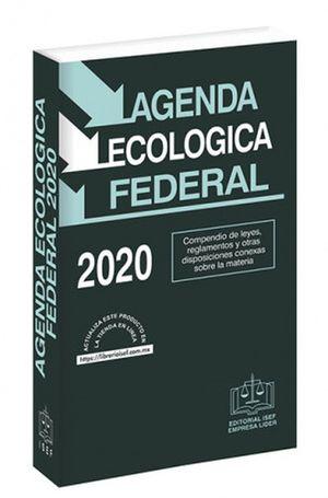 Agenda Ecológica Federal 2020 / 14 ed. (Económica)