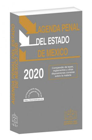 Agenda Penal del Estado de México / 33 ed. (Económica)