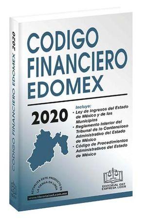 Código Financiero del Estado de México 2020 (Económica)
