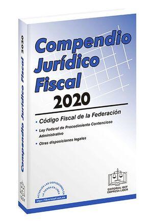 Compendio Jurídico Fiscal 2020 / 3 ed. (Económica)