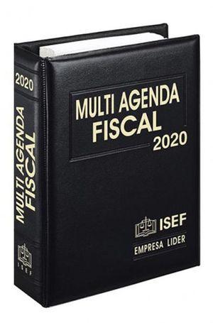Multi Agenda Fiscal y Complemento 2020 / 30 ed. (Ejecutiva)