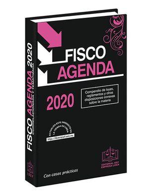 Fisco Agenda 2020 (Económica / Edición especial color rosa)