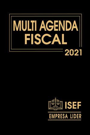Multi Agenda Fiscal y complemento 2021 / 31 ed. (Ejecutiva)