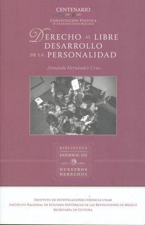 DERECHO AL LIBRE DESARROLLO DE LA PERSONALIDAD