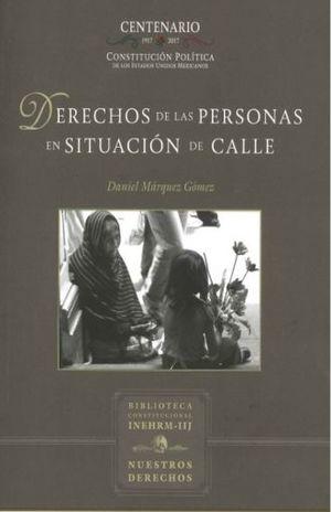 DERECHOS DE LAS PERSONAS EN SITUACION DE CALLE