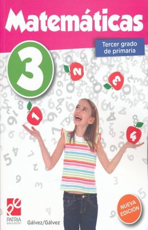 MATEMATICAS 3 TERCER GRADO DE PRIMARIA / 6 ED.