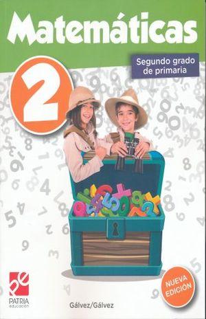 MATEMATICAS 2 SEGUNDO GRADO DE PRIMARIA / 7 ED.