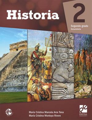 HISTORIA 2 SEGUNDO GRADO SECUNDARIA