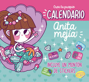 CALENDARIO ANITA MEJIA (INCLUYE STICKERS)