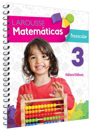 Matemáticas 3. Preescolar / 4 ed.
