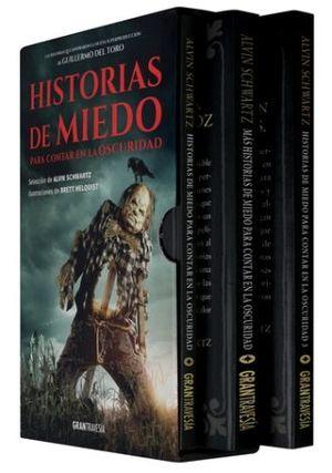 SERIE HISTORIAS DE MIEDO PARA CONTAR EN LA OSCURIDAD / 3 VOLS. (ESTUCHE)