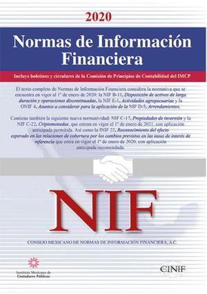 Normas de Información Financiera Profesional 2020