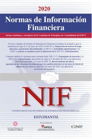 Normas de Información Financiera Estudiantil 2020