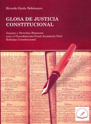 GLOSA DE JUSTICIA CONSTITUCIONAL