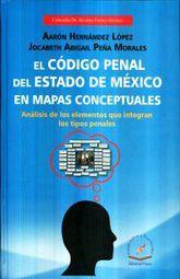 CODIGO PENAL DEL ESTADO DE MEXICO EN MAPAS CONCEPTUALES, EL. ANALISIS DE LOS ELEMENTOS LOS TIPOS PENALES
