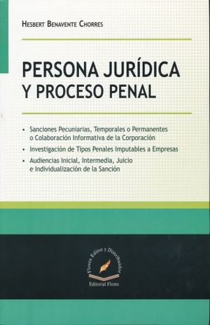 PERSONA JURIDICA Y PROCESO PENAL