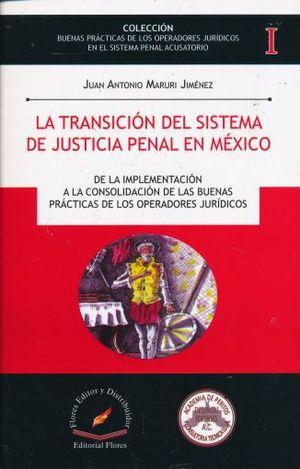 TRANSICION DEL SISTEMA DE JUSTICIA PENAL EN MEXICO, LA