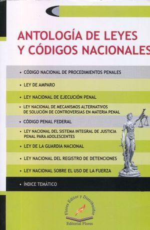 ANTOLOGIA DE LEYES Y CODIGOS NACIONALES