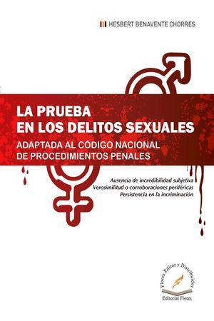Prueba en los delitos sexuales adaptada al CNPP