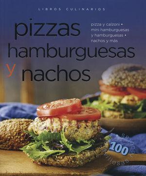 LIBROS CULINARIOS PIZZAS HAMBURGUESAS Y NACHOS