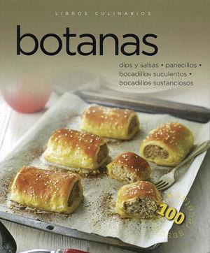 LIBROS CULINARIOS. BOTANAS