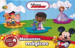 MOMENTOS MAGICOS DISNEY JUNIOR / PD. (ARCON DE CUENTOS CON 4 LIBROS)