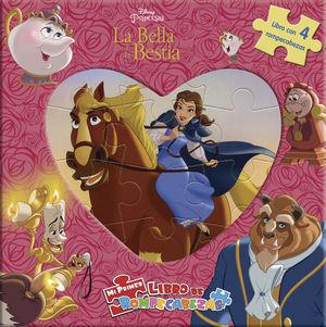 Mi primer libro de rompecabezas. La Bella y la Bestia / pd.