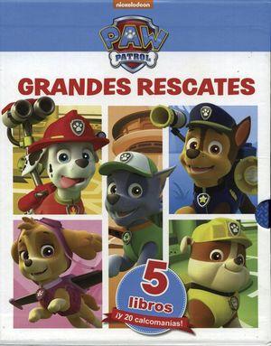 Grandes rescates. Paw Patrol / pd.